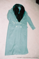 9. Green wool coat